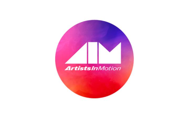 Artists in Motion logo